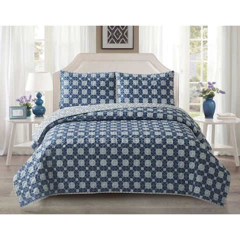 Harper Lane Ironwork 3-piece Quilt Set