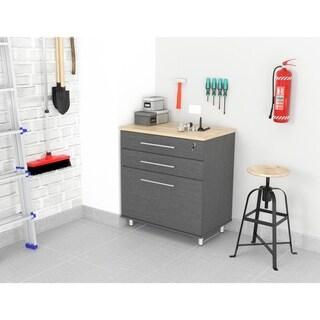 Inval KRATOS 3-Drawer Graphite Grey Garage Cabinet