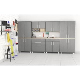 Inval KRATOS 6-Piece Graphite Grey Garage Cabinet Set