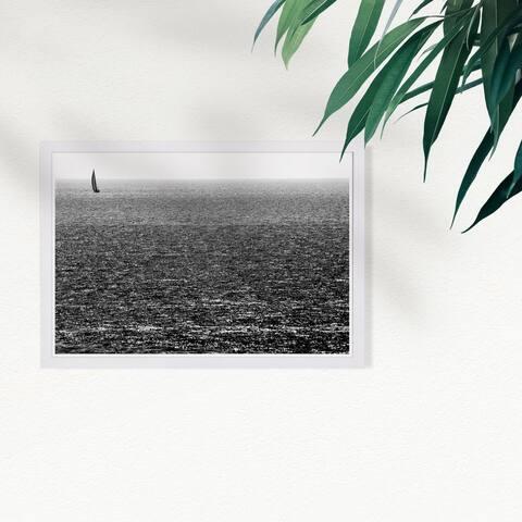 Wynwood Studio 'Untitled I by Tal Paz-Fridman' Nautical and Coastal Framed Wall Art Print - Black, White