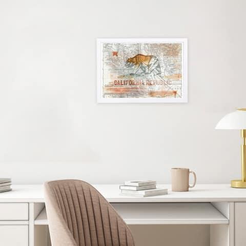 Buy Landscape, Map Wynwood Studio Framed Prints Online at ...