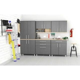 Inval KRATOS 5-Piece Graphite Grey Garage Cabinet Set