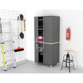 Inval KRATOS 34-inch Graphite Grey Garage Cabinet