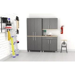 Inval KRATOS 3-Piece Graphite Grey Garage Storage System