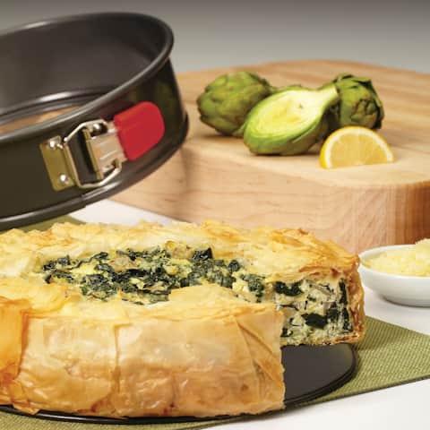 "Rachael Ray Nonstick Bakeware Oven Lovin' Springform Pan, 9"", Grey"