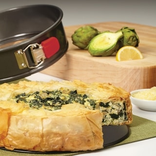 "Link to Rachael Ray Nonstick Bakeware Oven Lovin' Springform Pan,  9"", Grey Similar Items in Bakeware"