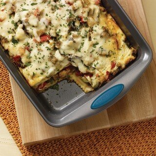 """Link to Rachael Ray Nonstick Bakeware Oven Rectangle Cake Pan, 9"""" by 13"""" Similar Items in Bakeware"""