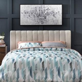 Link to Lifestorey Teagan Queen Channel Upholstered Headboard Similar Items in Bedroom Furniture
