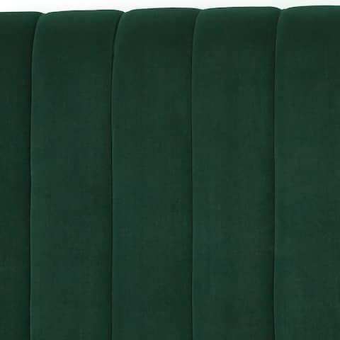Lifestorey Teagan Queen Channel Upholstered Headboard