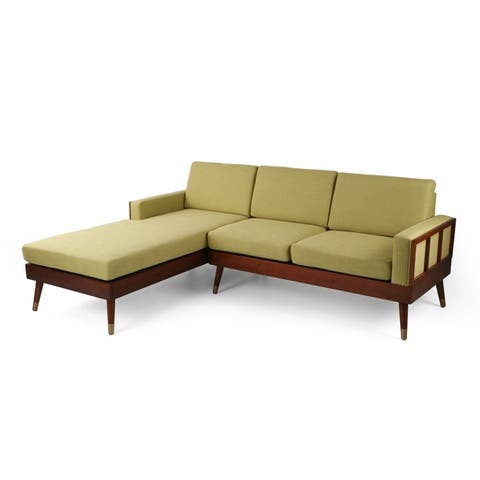 Arkwright 3-seater Sectional Set with Chaise Lounge by Christopher Knight Home