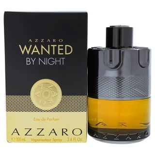 Loris Azzaro Wanted by Night for Men Eau de Parfum Spray 3.4 oz
