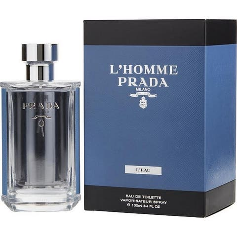 L'Homme Prada L'Eau by Prada for Men Eau De Toilette Spray 3.4 Oz