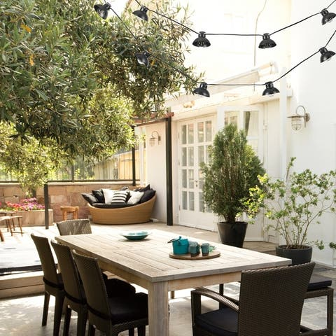10-light Outdoor/Indoor String Lights with LED Bulbs by Havenside Home - 10ft