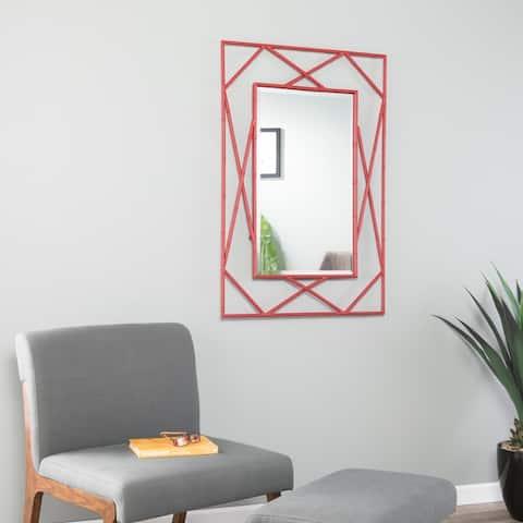SEI Furniture Belews Geometric Wall Mirror