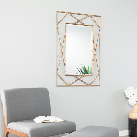 Holly & Martin Belews Geometric Wall Mirror