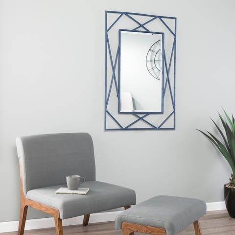 Belews Geometric Wall Mirror