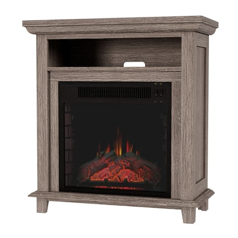 Copper Grove Cimislia Freestanding Electric Fireplace/TV Stand Console - 27 x 12.4 x 29
