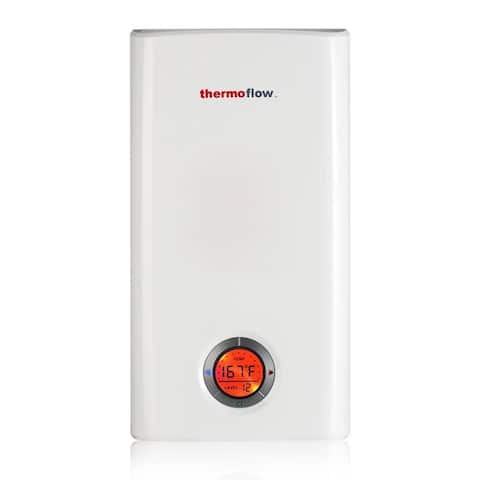 Elex 24 Electric Tankless Water Heater,24kW at 240 Volts, Instant Hot Water Heater with Self-Modulating Temperature Technology