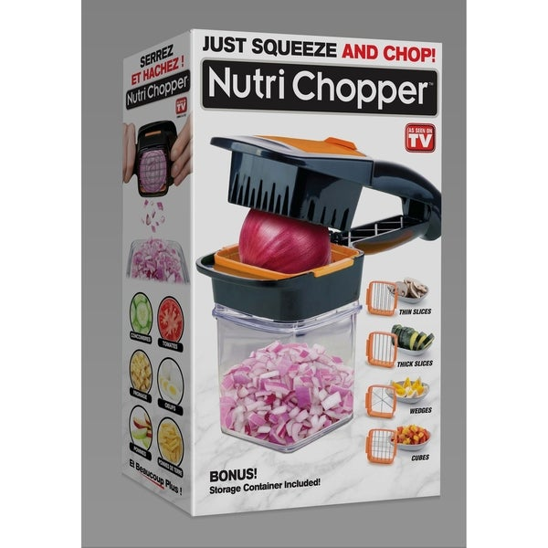 Nutri Chopper 4 in 1 Compact, Handheld Kitchen Food Gadget