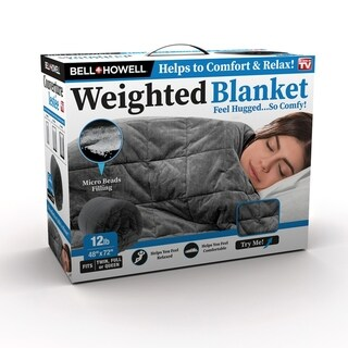 Bell and Howell Pleasure Pedi Sleep Therapy Weighted Blankets