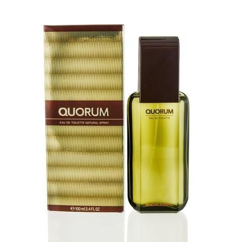 Quorum for Men by Puig Eau De Toilette Spray 3.3 Oz
