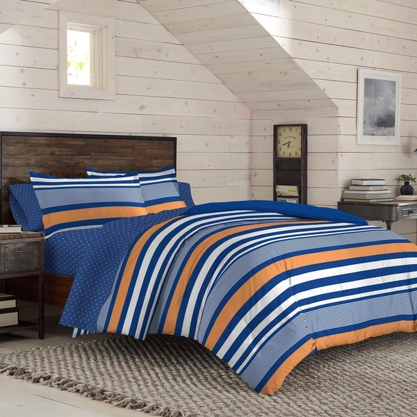 TWIN Anderson Geo Paisley Stitched Quilt And Sham Collection