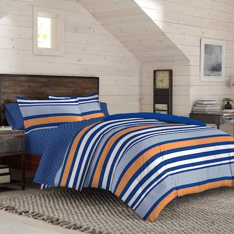 IZOD Anderson Stripe Comforter Set