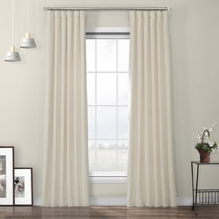 Link to Porch & Den Riedweg Plush Velvet Curtain Similar Items in Blackout Curtains