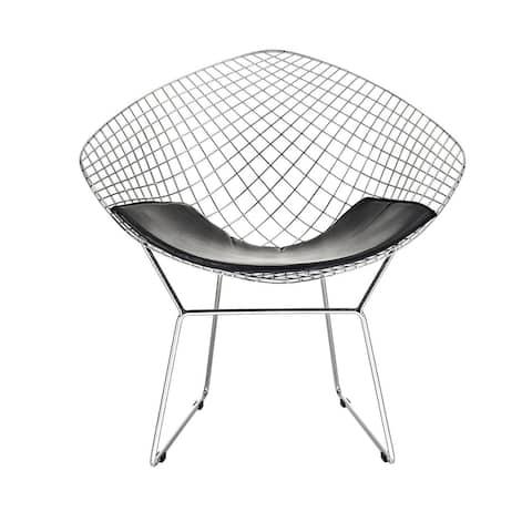 Bertoia Diamond Chair in Black