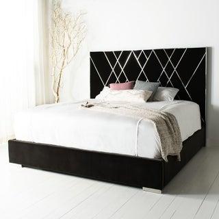 Safavieh Couture Bermudez Velvet King Bed