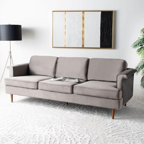 Safavieh Couture Bunny Wooden Leg Sofa