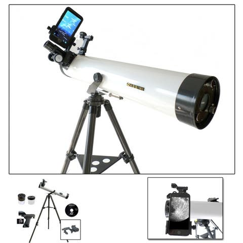800mm X 80mm Reflector telscope + Smartphone Adapter