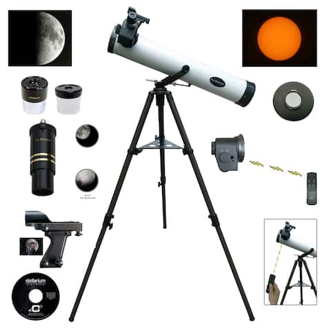 800mm x 80mm Telescope with Electronic Focus and Solar Filter