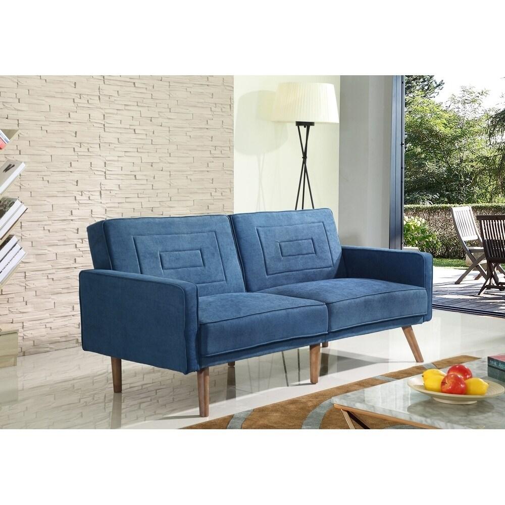 Ventura Convertible Sofa Bed in Teal