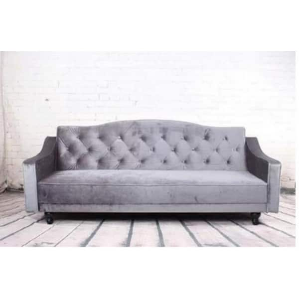 Shop Tufted Sleeper Sofa Free Shipping Today Overstock