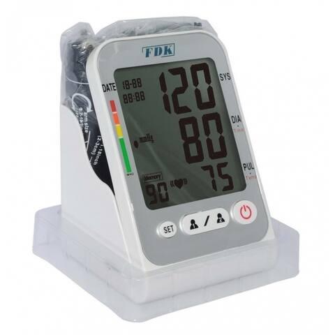 FDK Fully Automatic Digital Arm Cuff Blood Pressure Monitor