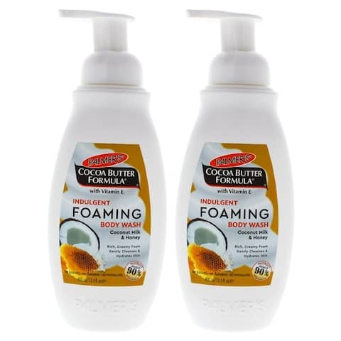 Indulgent Foaming Body Wash Coconut Milk and Honey by Palmers for Unisex - 13.5 oz Body Wash - Pack