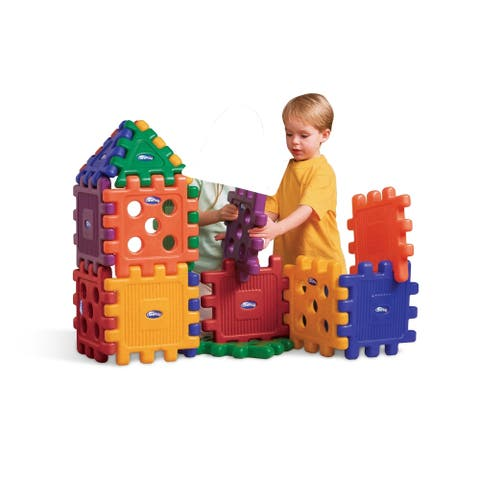 CarePlay Grid Blocks-building Blocks 16pc. Set