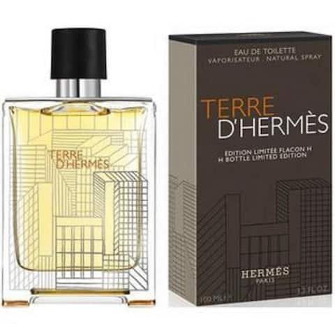 Terre D'Hermes for Men by Hermes Eau De Toilette Spray Limited Edition 3.3 Oz