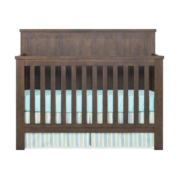 Child Craft Calder 4-in-1 Convertible Baby Crib - Brushed Truffle