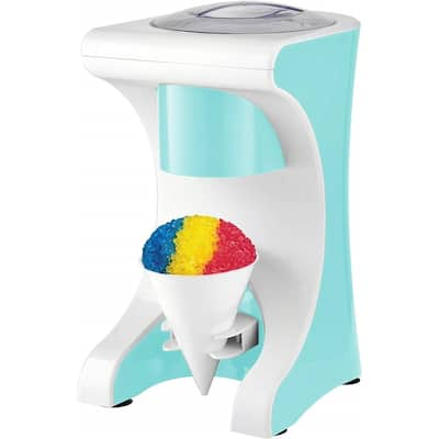 Brentwood TS-1420BL Snow Cone Maker and Shaved Ice Machine, Blue