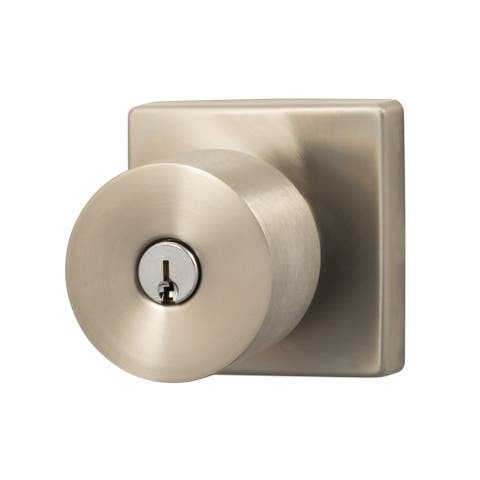 Sure-Loc Bergen-Square Keyed Entry Knob