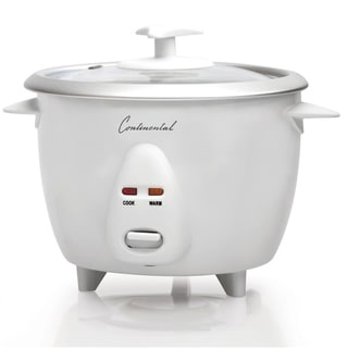 Link to Rice Cooker 12-Cup Cooked Glass Lid White Similar Items in Kitchen Appliances
