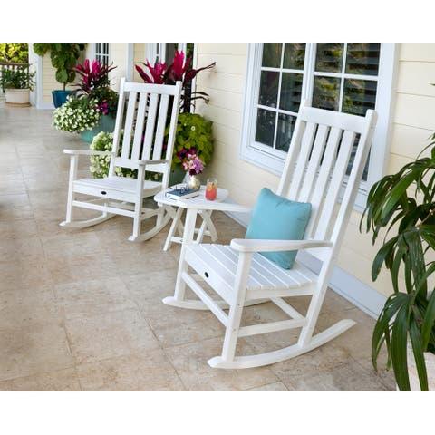 Trex® Outdoor Furniture Cape Cod 3-Piece Porch Rocking Chair Set