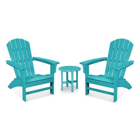 Trex® Outdoor Furniture Yacht Club 3-Piece Adirondack Set