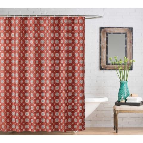 Harper Lane Mandala 13-piece Shower Curtain Set