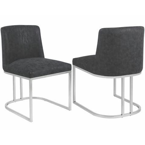 Modern Chic Design Upholstered Dining Chair