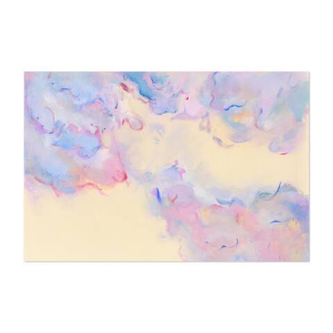 Noir Gallery Abstract Modern Acrylic Painting Unframed Art Print/Poster