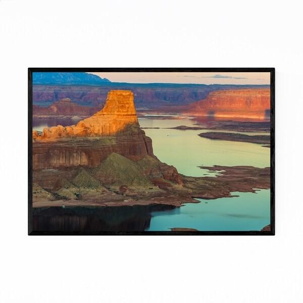 Noir Gallery Lake Powell Utah Nature Photo Framed Art Print