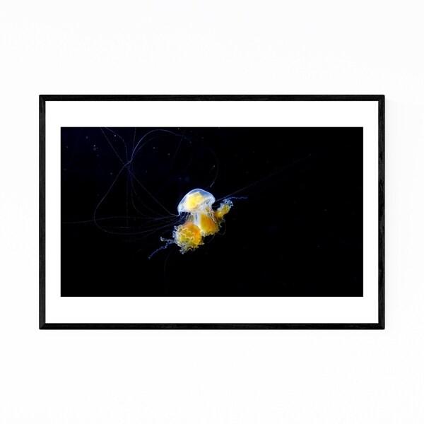 Noir Gallery Osaka Japan Jellyfish Abstract Framed Art Print